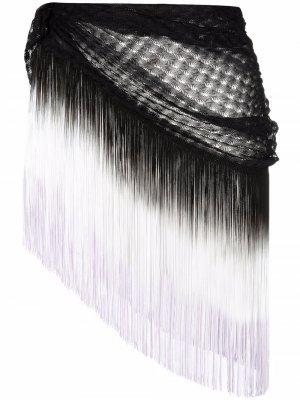 Пляжная накидка Missoni. Цвет: черный