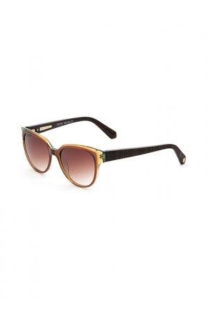 Очки солнцезащитные Enni Marco. Цвет: коричневый, темно-коричневый