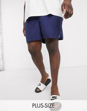 Темно-синие волейбольные шорты 5 дюймов Plus-Темно-синий Nike Swimming