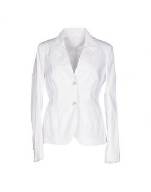 Пиджак DIVINA. Цвет: белый