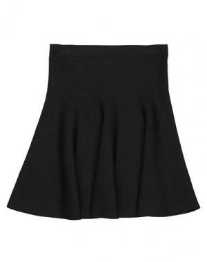 Мини-юбка BCBGMAXAZRIA. Цвет: черный