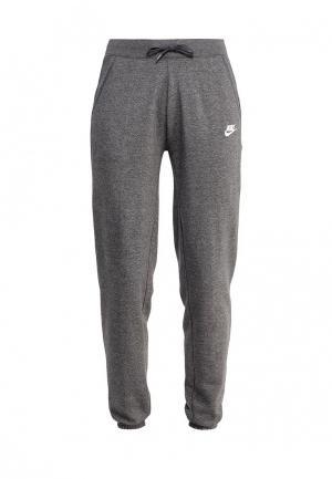 Брюки спортивные Nike Sportswear Womens Fleece Pants. Цвет: серый
