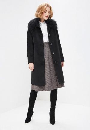 Пальто Doroteya. Цвет: черный