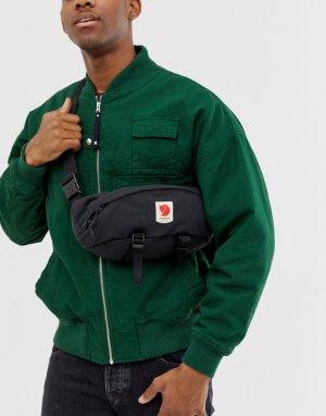Большая сумка-кошелек на пояс Ulvo Fjallraven. Цвет: черный