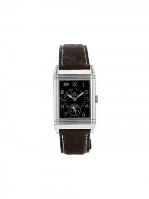 Наручные часы Reverso pre-owned 36 мм 2000-х годов Jaeger-LeCoultre. Цвет: черный