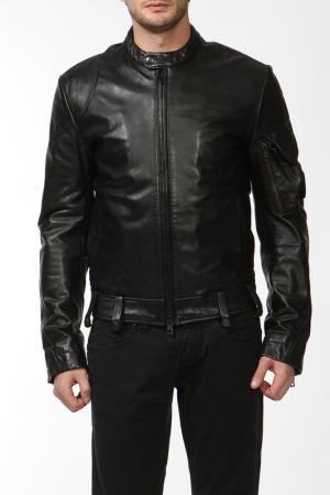 Куртка ANDREW MACKENZIE. Цвет: черный