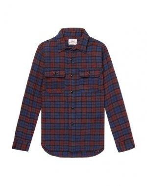 Pубашка BATTENWEAR. Цвет: темно-синий