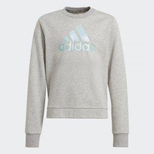 Джемпер Future Icons Logo Sportswear adidas. Цвет: серый
