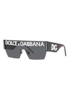 Солнечные очки DOLCE & GABBANA. Цвет: белый