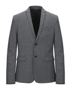 Пиджак PATRIZIA PEPE. Цвет: серый