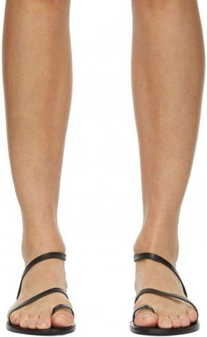 SSENSE Exclusive Black Apli Eleftheria Sandals Ancient Greek. Цвет: black