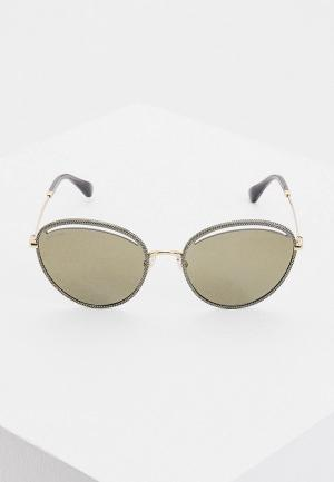 Очки солнцезащитные Jimmy Choo MALYA/S W8Q. Цвет: золотой