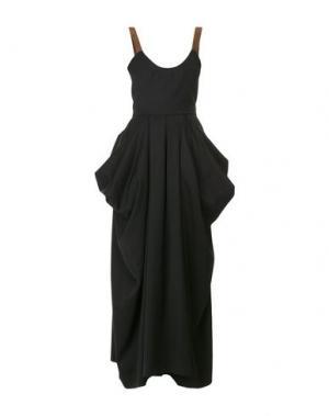 Длинное платье J.W.ANDERSON. Цвет: черный