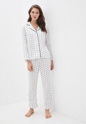 Пижама DeFacto. Цвет: белый
