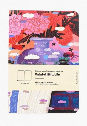 Блокнот Falafel. Цвет: разноцветный