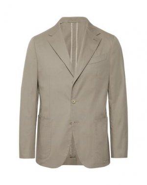 Пиджак CARUSO. Цвет: голубиный серый