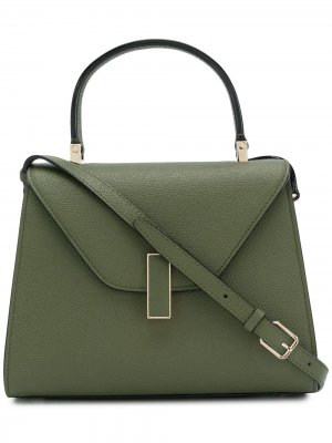 Маленькая сумка Iside Valextra. Цвет: зеленый