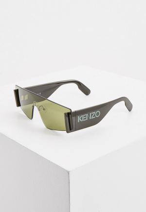 Очки солнцезащитные Kenzo KZ 40103U. Цвет: хаки