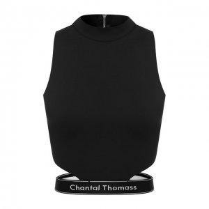 Топ Chantal Thomass. Цвет: чёрный
