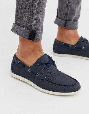 Темно-синие мокасины -Темно-синий Burton Menswear