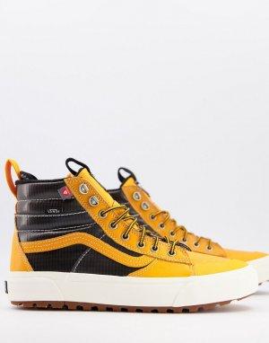 Оранжевые кроссовки Sk8-Hi MTE 2.0 DX-Оранжевый цвет Vans
