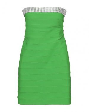 Короткое платье JOLIE CARLO PIGNATELLI. Цвет: зеленый