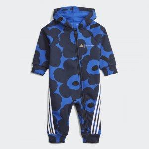 Комбинезон Marimekko Sportswear adidas. Цвет: черный