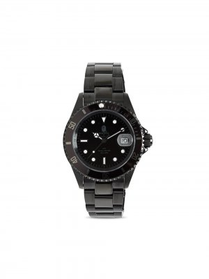 Наручные часы Type 2 40 мм A BATHING APE®. Цвет: черный
