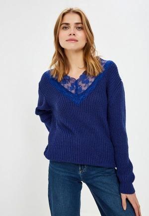 Пуловер Imperial. Цвет: синий