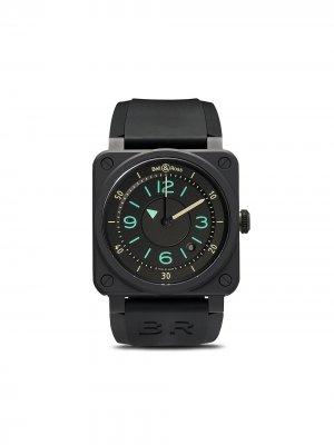 Наручные часы BR 03-92 Bi-Compass 42 мм Bell & Ross. Цвет: черный