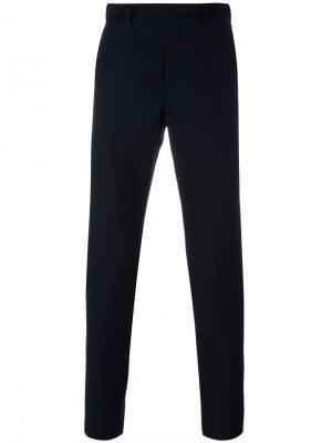 Классические брюки Gucci. Цвет: синий