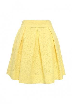 Юбка Boutique Moschino. Цвет: желтый