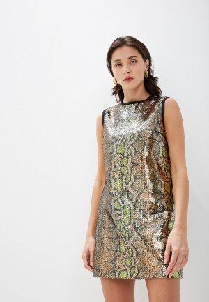 Платье N21. Цвет: золотой