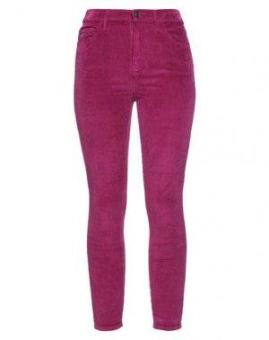 Повседневные брюки CURRENT/ELLIOTT. Цвет: пурпурный