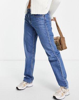 Синие джинсы прямого кроя Levis Low Pro-Голубой Levi's