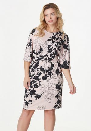 Платье Fly. Цвет: розовый