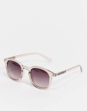 Солнцезащитные очки в прозрачной оправе Watson-Светло-бежевый Santa Cruz