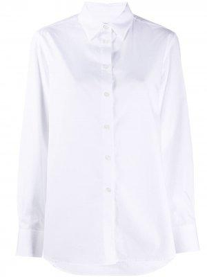 Рубашка Jane в клетку Filippa K. Цвет: белый