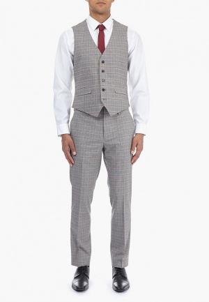 Жилет Burton Menswear London. Цвет: серый