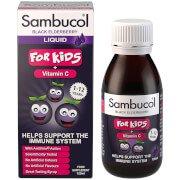 Sambucol Kids для детей - Без ароматизаторов (120 мл)