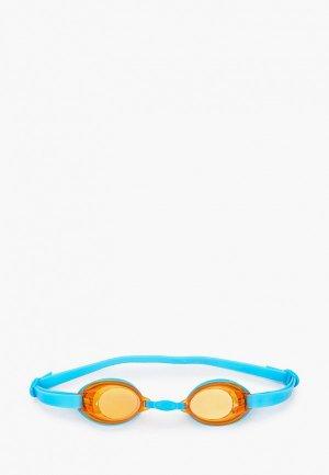 Очки для плавания Speedo JET V2 GOG. Цвет: голубой