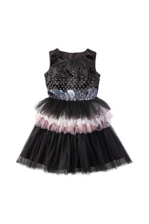 Платье I love to dream. Цвет: черный