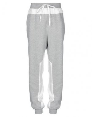 Повседневные брюки CLU. Цвет: серый