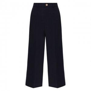 Укороченные брюки Gucci. Цвет: синий