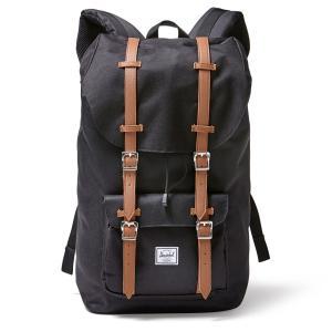 Рюкзак LITTLE AMERICA 25 л для ноутбука 15 HERSCHEL. Цвет: черный