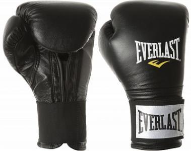 Перчатки тренировочные , размер 10 oz Everlast. Цвет: черный
