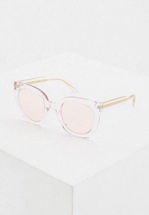 Очки солнцезащитные Gucci GG0564S 005. Цвет: розовый
