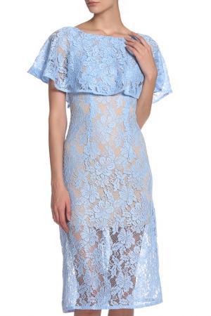 Платье IQDRESS. Цвет: голубой