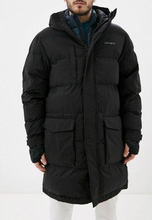Куртка утепленная Carhartt Weber. Цвет: черный