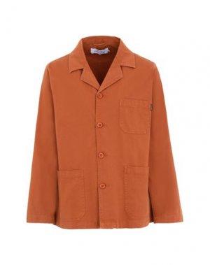Пиджак DEDICATED.. Цвет: ржаво-коричневый
